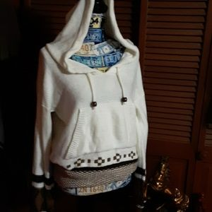 Earth bound great hooded sweater